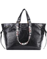 Isabel Marant - Bagya Leather Tote - Lyst