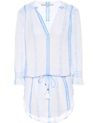 Heidi Klein - Gili Islands Cotton Shirt Dress - Lyst
