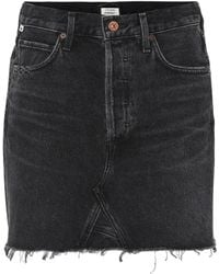 Citizens of Humanity - Astrid Denim Miniskirt - Lyst
