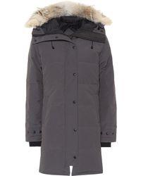 Canada Goose - Shelburne Fur-trimmed Down Coat - Lyst