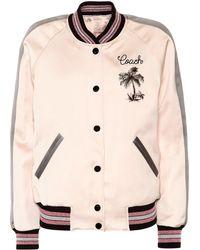 COACH - Reversible Souvenir Varsity Jacket - Lyst