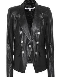 Veronica Beard - Cooke Leather Jacket - Lyst