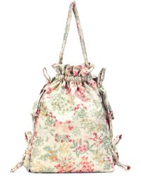Simone Rocha - Floral-printed Bucket Bag - Lyst