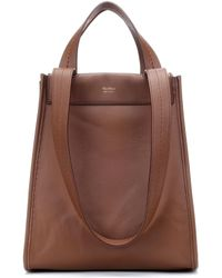 Max Mara - Large Reversible Leather Shopper - Lyst
