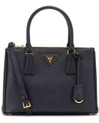 Prada - Galleria Saffiano Small Leather Shoulder Bag - Lyst