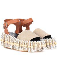 Planos Mujer De Eqcxwrdbo Zapatos Loewe Lyst Desde 195 € Kc3uTlF1J