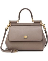 Dolce   Gabbana - Sicily Small Leather Shoulder Bag - Lyst 46b5bcf877664