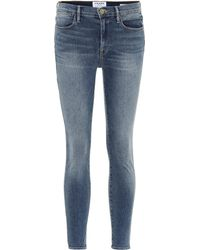 FRAME - Jeans Le High Skinny - Lyst