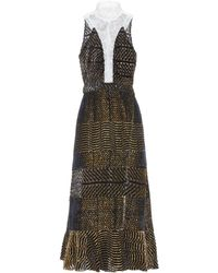 Altuzarra - Farley devoré dress - Lyst