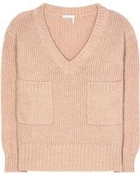 Chloé - V-neck Sweater - Lyst