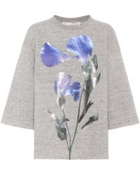 Golden Goose Deluxe Brand - Liliana Printed Cotton Sweatshirt - Lyst