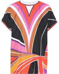 Emilio Pucci - Printed Silk Top - Lyst
