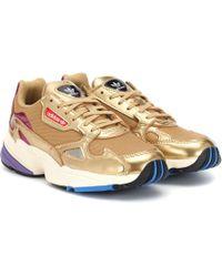 adidas Originals - Sneakers Falcon mit Leder - Lyst