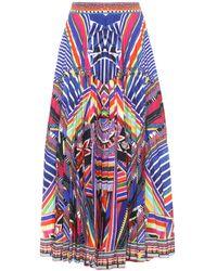 Camilla - Printed Maxi Skirt - Lyst