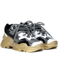 N°21 - Billy Leather Sneakers - Lyst