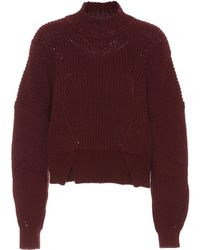 Isabel Marant | Lane Cotton And Wool Sweater | Lyst