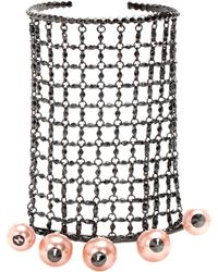 Gucci - Embellished Bracelet And Rings - Lyst
