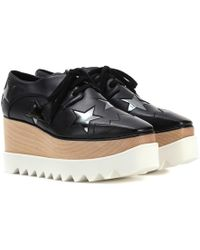 Stella McCartney - Elyse Star Platform Derby Shoes - Lyst