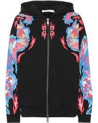 Givenchy - Sweat-shirt en coton imprimé - Lyst