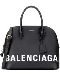 Balenciaga - Ville M Leather Tote - Lyst