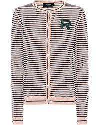 Striped Cardigan Cotton Rochas Lyst Rochas Lyst Cardigan Rochas Cotton Cotton Striped Rochas Striped Striped Cardigan Cotton Lyst wAtxq6RqZ