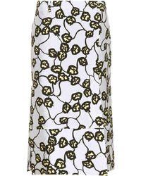 Marni - Printed Skirt - Lyst
