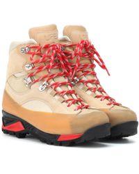 Ganni - Sarai Suede Ankle Boots - Lyst