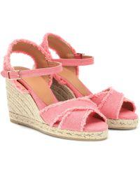 Castaner - Bromelia Wedge Sandals - Lyst
