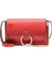 Chloé - Faye Small Patent Leather Shoulder Bag - Lyst