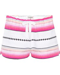 lemlem - Cotton Shorts - Lyst
