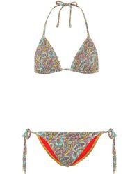 Etro - Bikini imprimé - Lyst