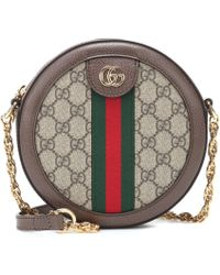 c67ffbe7f51f Gucci Gg Supreme Neo Vintage Camera Bag in Red - Lyst