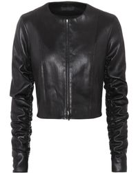 The Row - Razna Leather Jacket - Lyst