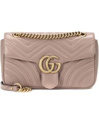Gucci - Gg Marmont Small Shoulder Bag - Lyst