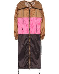 Marni - Colorblocked Raincoat - Lyst