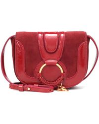 See By Chloé - Hana Mini Leather Shoulder Bag - Lyst
