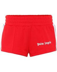 Palm Angels - Logo Printed Shorts - Lyst