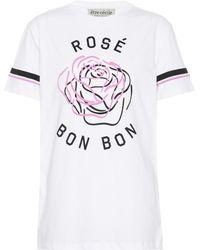 Être Cécile - T-shirt en coton imprimé Rose Bon Bon - Lyst