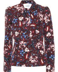 Erdem - Garnet Floral Jacquard Jacket - Lyst
