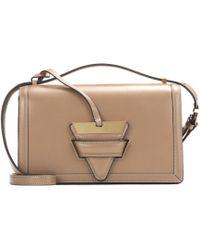 Loewe - Barcelona Leather Shoulder Bag - Lyst
