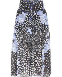 Poupette - Printed Silk Skirt - Lyst