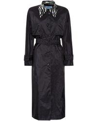 Prada - Printed Raincoat - Lyst