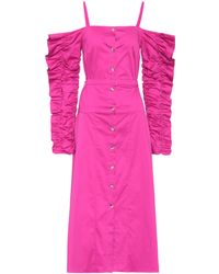 2174e52f8de8 Anna October - Stretch-cotton Cold-shoulder Dress - Lyst