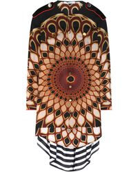 Givenchy - Printed Silk Blouse - Lyst