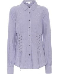 Jonathan Simkhai - Gingham Cotton Shirt - Lyst