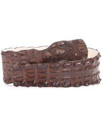 Balmain - Cintura in pelle di coccodrillo - Lyst
