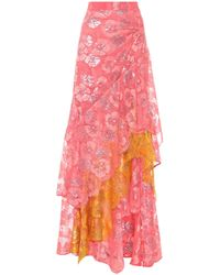 Peter Pilotto - Lace Maxi Skirt - Lyst