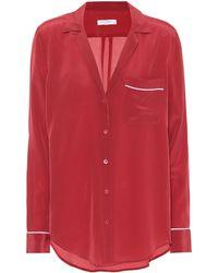 Equipment - Kiera Silk Pyjama Shirt - Lyst