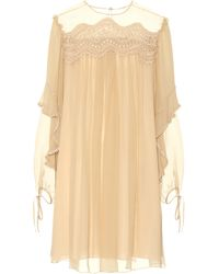 Chloé - Exclusive To Mytheresa. Com – Silk Dress - Lyst