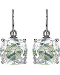 Bottega Veneta - Cubic Zirconia Earrings - Lyst